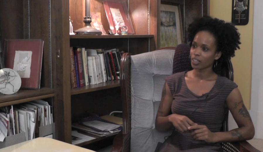 monica interview screen shot