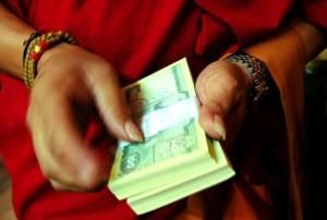 tibet money