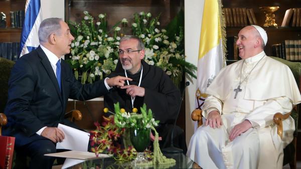 ISRAEL-VATICAN-POPE
