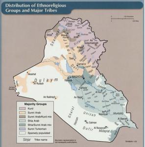 iraq regions