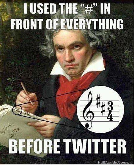 Ludwig-van-Beethoven-hastag-twitter-invented-twitter-meme