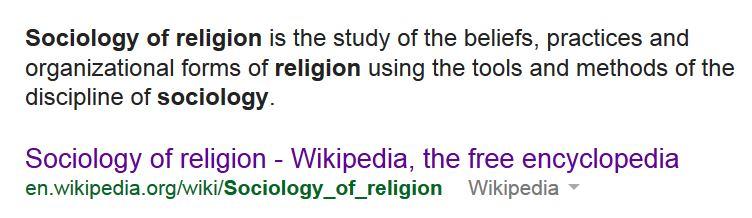 sociologyofreligion