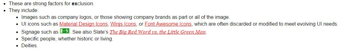 emoji criteria