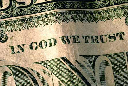 in god we trust bank note