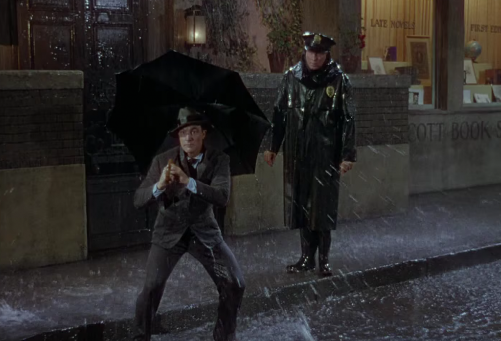 singing in the rain analysis film studies essay Singing in the rain is often cited as the best musical ever made with good reason, but at times it can feel a bit disjointed this may be due to the fact that the script was written singing in the rain is the quintessential happy-go-lucky film, and its songs, choreography, and narrative captivate the audience.