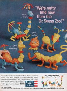 Dr. Suess Zoo figurings