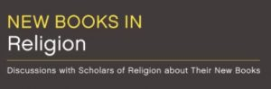 New Books in Religion title graphic