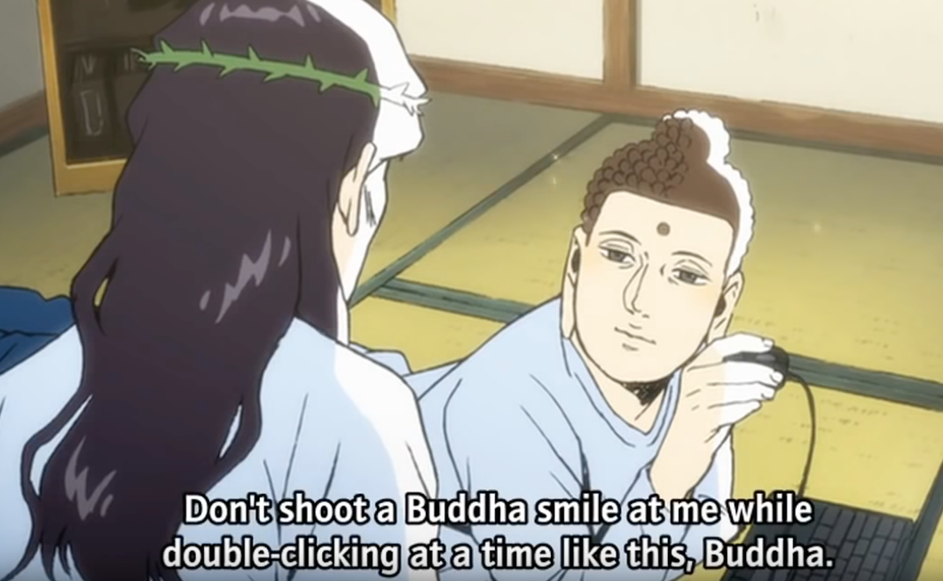 Image from Anime Saint Young Men