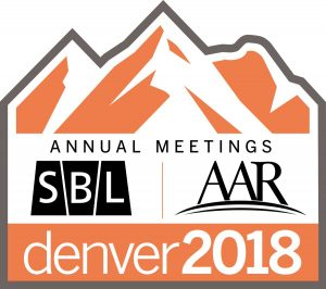 Annual Meetings of the SBL AAR Denver 2018