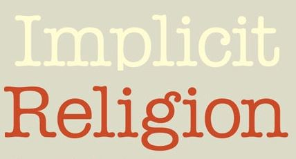 Implicit Religion