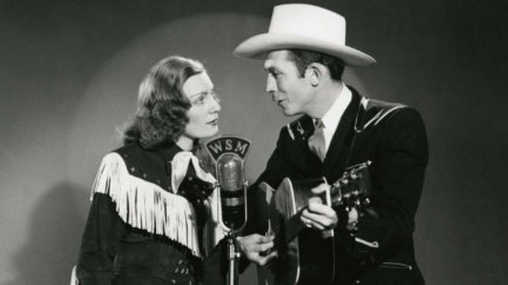 WSM radio performance of early country music duet
