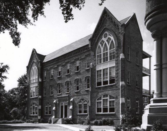 Manly Hall in the 1970s