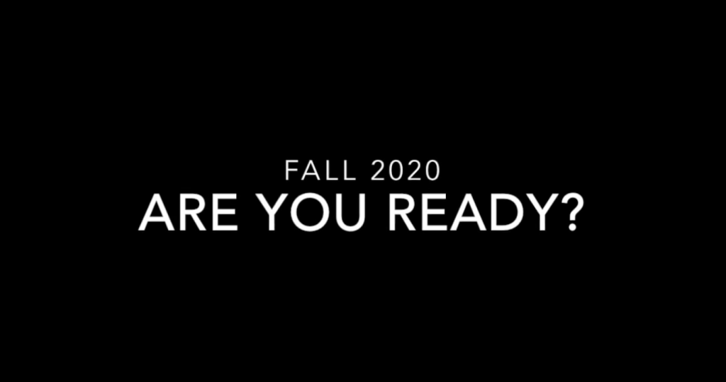 Video title card: Are you ready?
