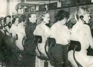 Switchboard operators in 1950 Dekalb County Alabama