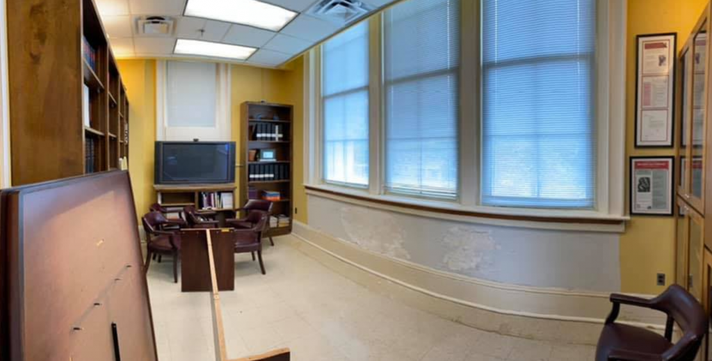Renovation of the department library