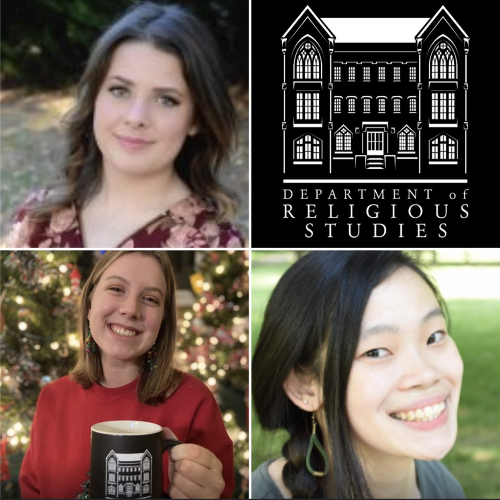 three incoming MA students