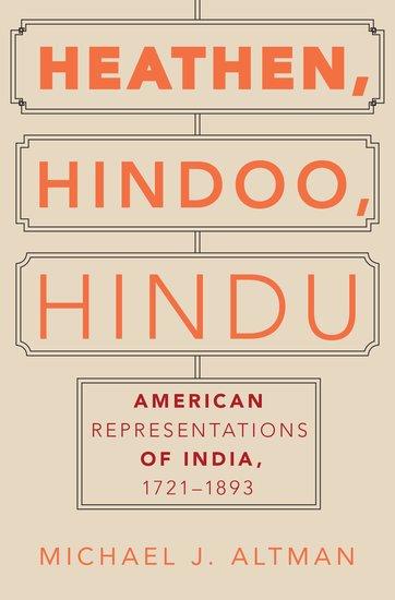 the cover of Heathen, Hindoo, Hindu