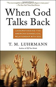 The cover of the book entitled When God Talks Back