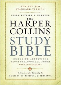 The Harper Collins Study Bible cover