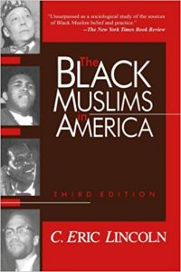 The Black Muslims in America cover