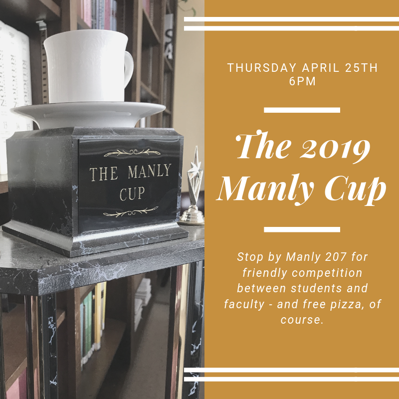 2019 Manly Cup Flyer