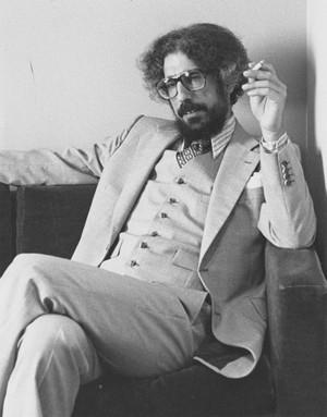 J.Z. Smith smoking a cigarette