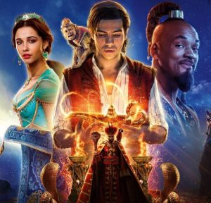 Aladdin movie promotional image