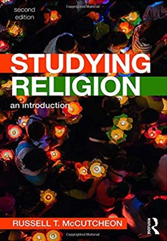 Book cover for Studying Religion
