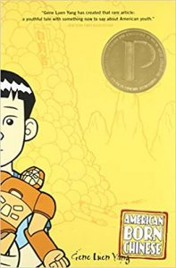 Cover of American Born Chinese graphic novel